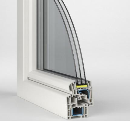 Modello ideal 5000 finestre pvc 24 - Finestre pvc rehau ...