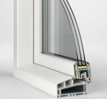 Modello nl ideal 4000 finestre pvc 24 - Finestre pvc rehau ...