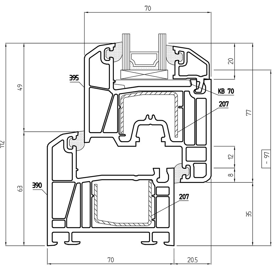 Misure standard finestre interesting misure ingombri finestra cupolino velux rota commerciale - Misure standard finestre ...